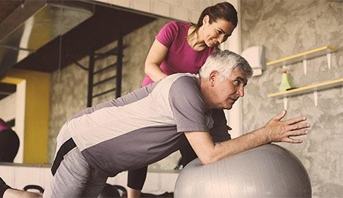personal training elderly